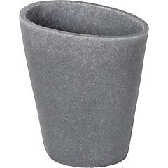 Vaso piedra gris