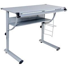 Mesa de dibujo 76x100x60 cm gris