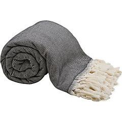 Manta toalla Herringbone Solid 210x240 cm