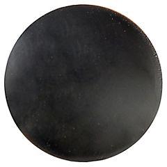 Tapa soberbio grande para tornillo 10 unidades negro