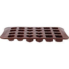 Molde de silicona para chocolate Rosas