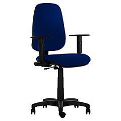 Silla para PC 110x48x46 cm azul