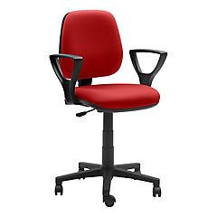 Silla para PC 90x48x46 cm rojo