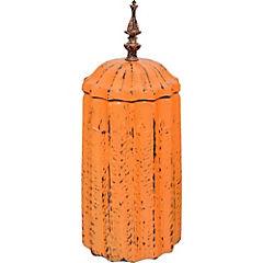 Jarrón cerámica mostaza 33 cm