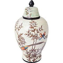 Jarro 34x5x18,5 cm cerámica crema