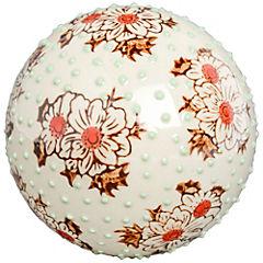 Esfera cerámica crema 10 cm