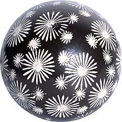 Esfera decorativa 10 cm cerámica negro