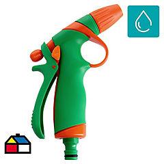 Pistola de riego ajustable de plástico