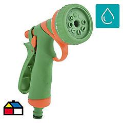 Pistola de riego multifuncional de plástico