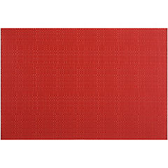 Individual textileno 45x30 cm rojo