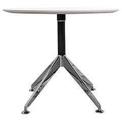 Mesa de reuniones circular blanco 90x75 cm