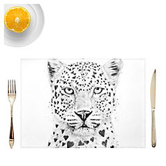 Set de 4 Individuales Lovely Leopard de Hungría