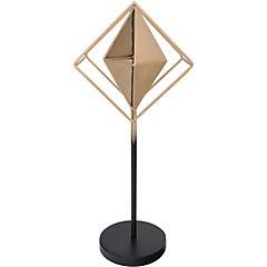 Figura decorativa 46x18x13 cm metal dorado