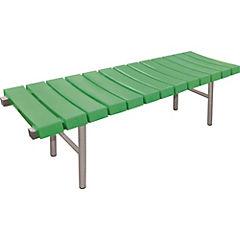 Banqueta de espera 45x45x150 cm verde