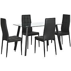 Juego de comedor 4 sillas