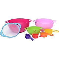 Set bowl para mezcla 8 piezas plástico