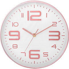 Reloj mural 30 cm cobre