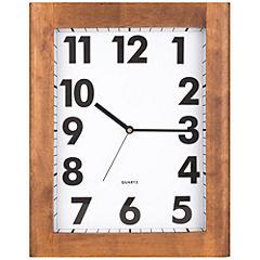 Reloj mural 32 cm roble