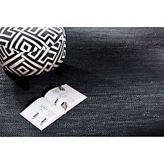 Alfombra Cuero Reciclado 160x230 cm negro