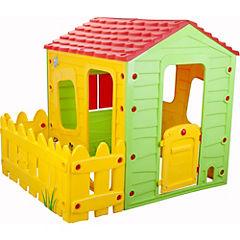 Casa de juegos 127x146x118 cm