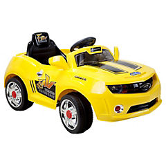 Auto a batería Camaro amarillo