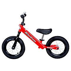 Bicicleta metálica roja