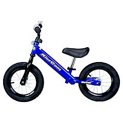 Bicicleta metálica azul