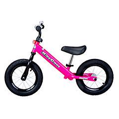 Bicicleta metálica rosada