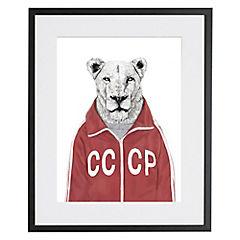 Cuadro Soviet Lion Artista de Hungria