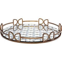 Bandeja de vidrio diseño 41x5 cm