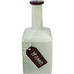 Botella cerámica Home verde