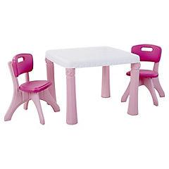 Set de mesa infantil plástico