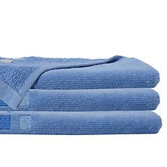 Juego de toallas 380 gr 30x50 cm 2 unidades Celeste