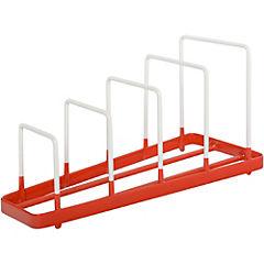 Secaplatos 44x33,5x39 cm plástico Rojo