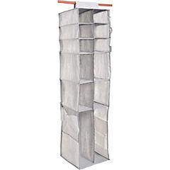 Organizador para clóset 39,37x35,56x45,72 cm Gris