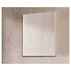 Espejo para baño 60x70x2,6 cm Gris