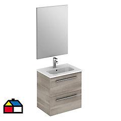 Combo mueble + vanitorio + espejo