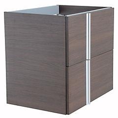 Mueble vanitorio 59,5x56,5x44,3 cm Wenge