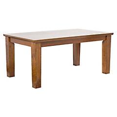 Mesa de comedor 74x100x170 cm caramelo