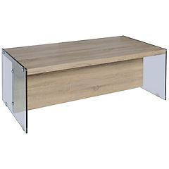 Mesa de centro 45x60x120 cm café