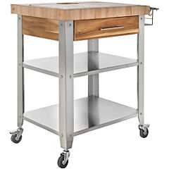 Mesa de apoyo madera