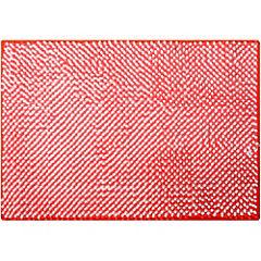 Piso para baño poliéster 43x61 cm Naranjo