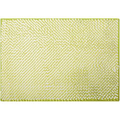 Piso para baño poliéster 43x61 cm Verde
