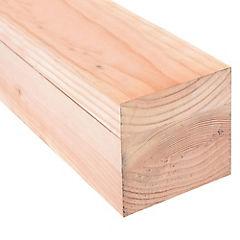 Pilar laminado pino oregón finger de 6x6