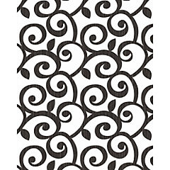 Papel mural Círculos negros