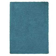 Alfombra Shaggy soft turquesa 120x170 cm