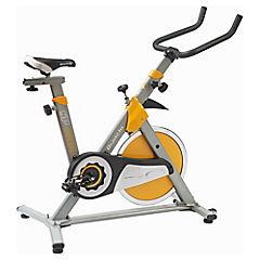 Bicicleta estática amarillo