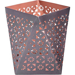 Portavela tealight 14x14x14 cm cobre