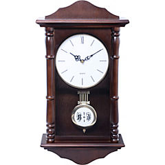 Reloj Péndulo madera walnut 46 cm