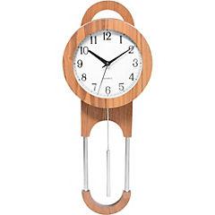 Reloj Péndulo madera natural 46 cm